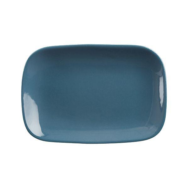 """Leone 8""""x5.5"""" Blue Plate"""