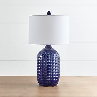 Blue Lamps Crate And Barrel