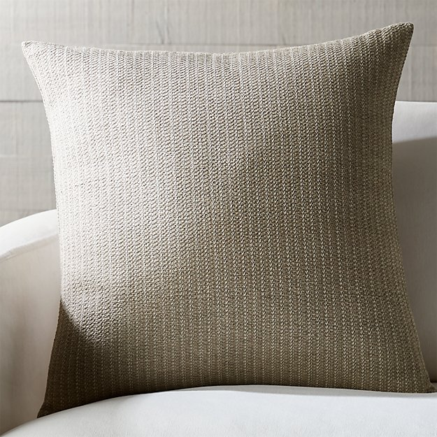 "Liano 23"" Almond Monochrome Pillow - Image 1 of 6"