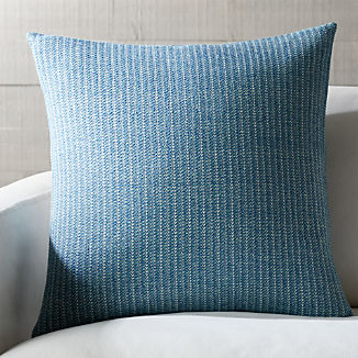 Blue Throw Pillows | Crate and Barrel
