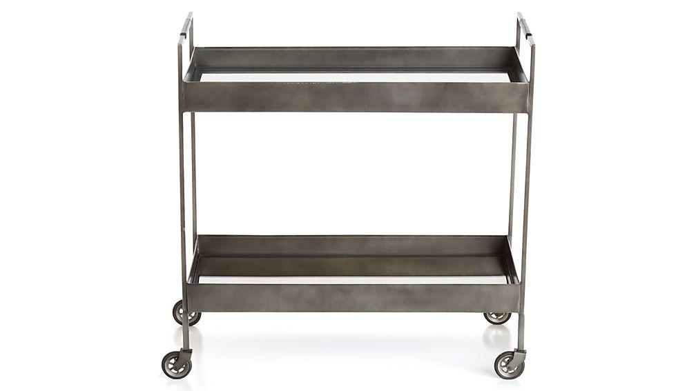Libations Carbon Bar Cart