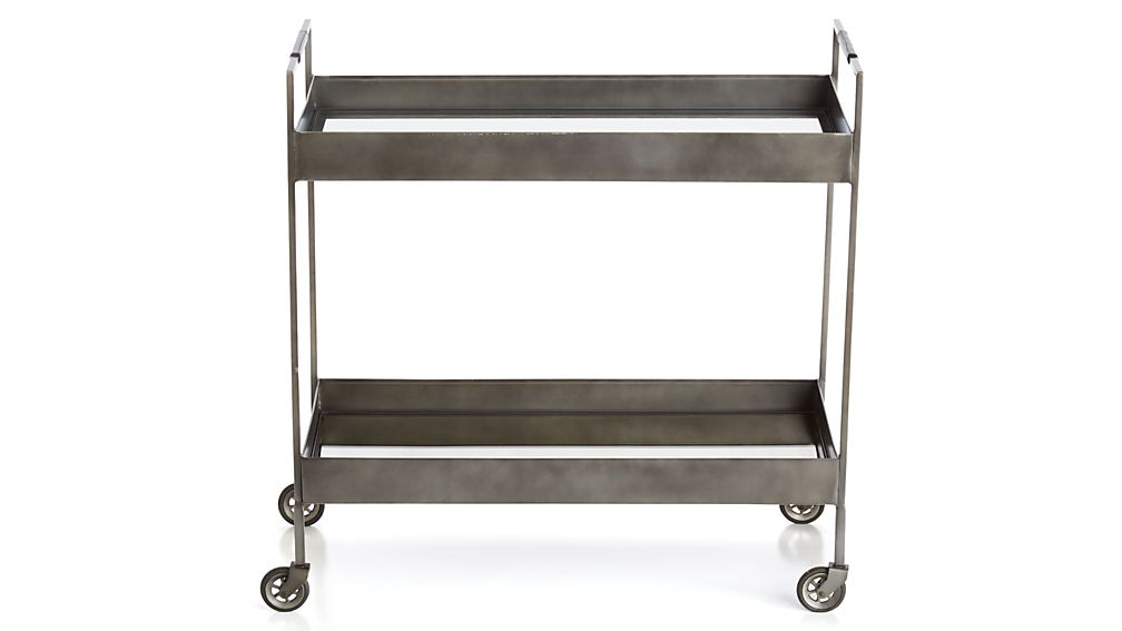 Libations Carbon Bar Cart