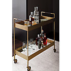 View product image Libations Antique Brass Bar Cart - image 4 of 13