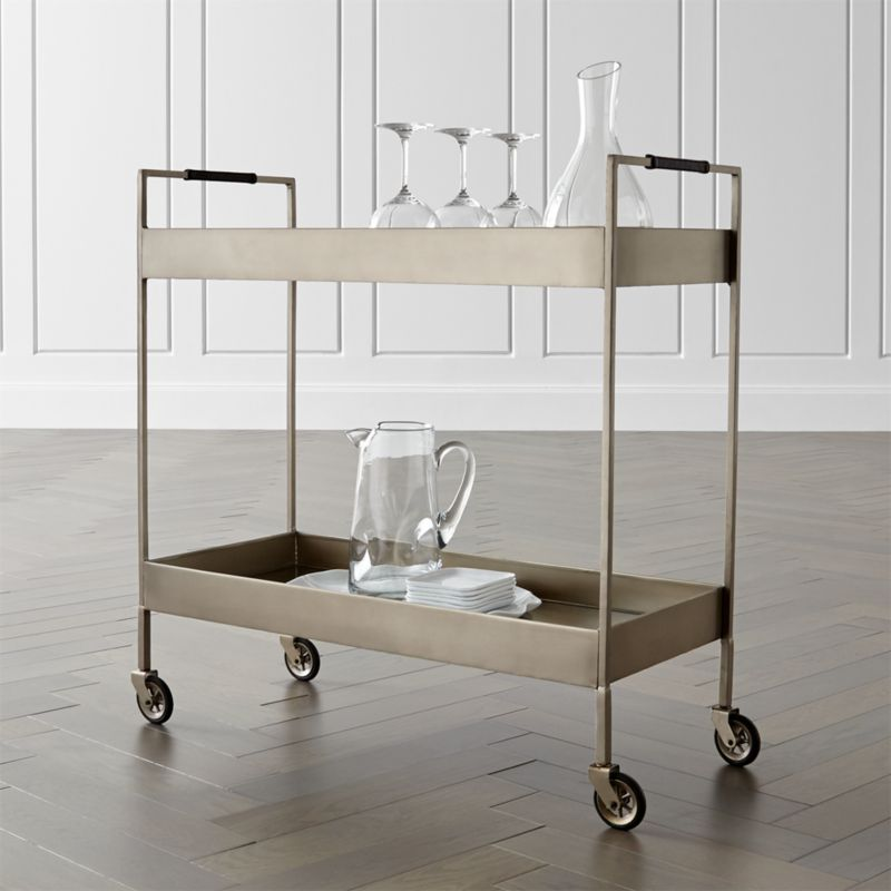 Bar Carts and Bar Cabinets | Crate and Barrel on