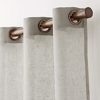 Curtain Panels And Window Coverings Crate And Barrel