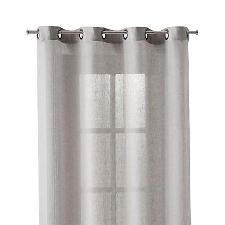 Light Grey Sheer 52x96 Curtain Panel