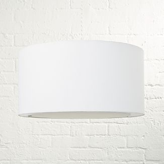 White lamp shades crate and barrel white lamp shades mozeypictures Image collections