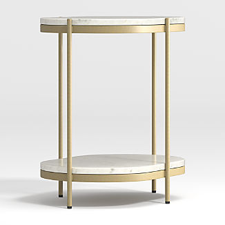 Lila Oval Nightstand