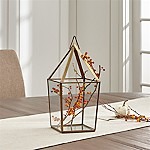 Lillian Brass Medium Lantern