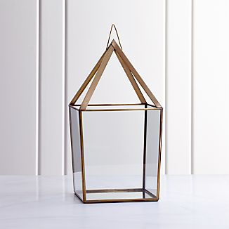 Lillian Brass Metal Extra Large Lantern