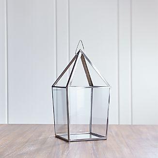 Lillian Large Silver Lantern