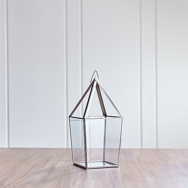 Lillian Medium Silver Lantern