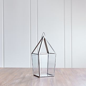 Lillian Medium Silver Lantern
