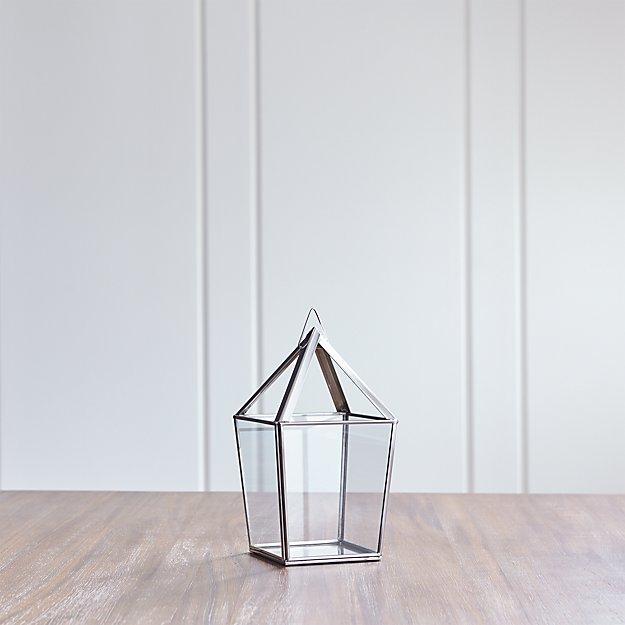 Lillian Small Silver Lantern