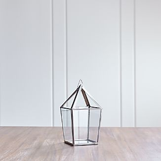 Lillian Small Silver Lantern