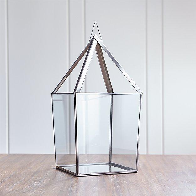 Lillian Extra-Large Silver Lantern