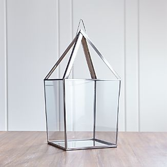Lillian Extra-Large Silver Lantern
