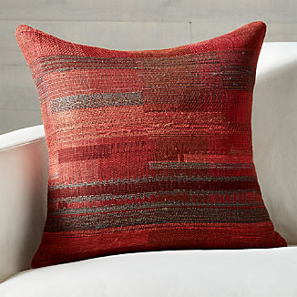 Lillo Hand Woven Pillow With Feather Down Insert 20