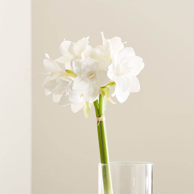 Amazon Artificial Lilies + Reviews | Crate and Barrel