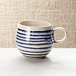 Lina Blue Stripe Coffee Mug