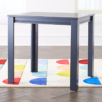 """Small Charcoal Adjustable Kids Table w/ 30"""" Legs"""