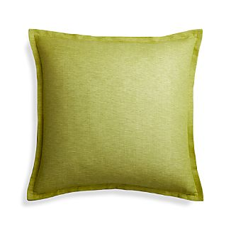 "Linden Apple Green 23"" Pillow Cover"