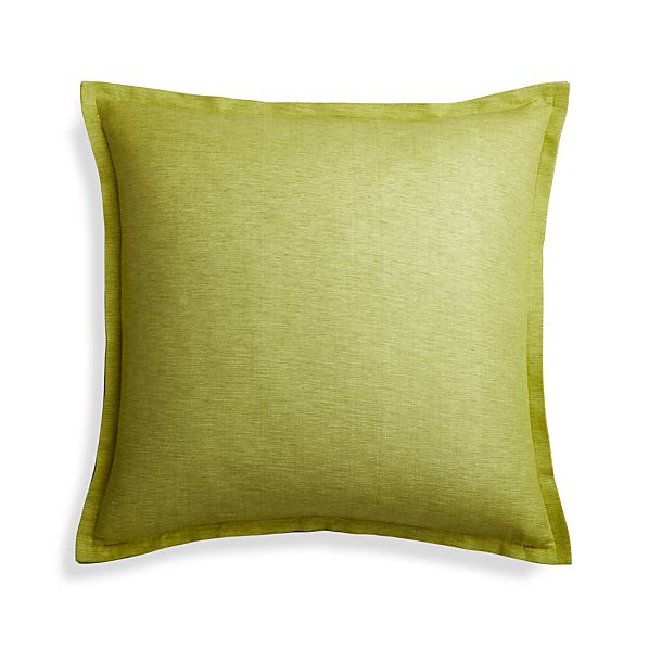 LindenAppleGreenPillow23x23F16