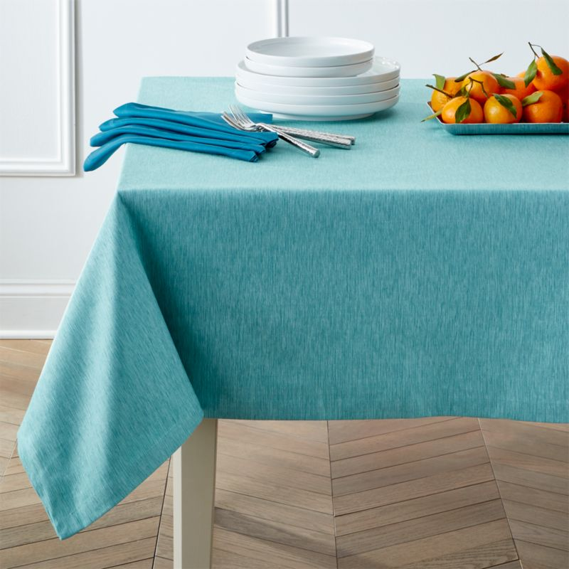 Tablecloths: Linen, Cotton and Polyester | Crate and Barrel