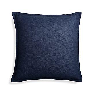 "Linden Cobalt 23"" Pillow Cover"