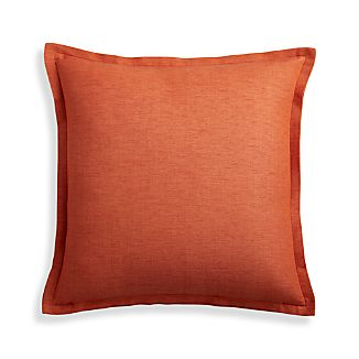"Linden Copper 18"" Pillow Cover"