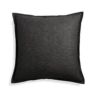 "Linden Ebony 23"" Pillow Cover"