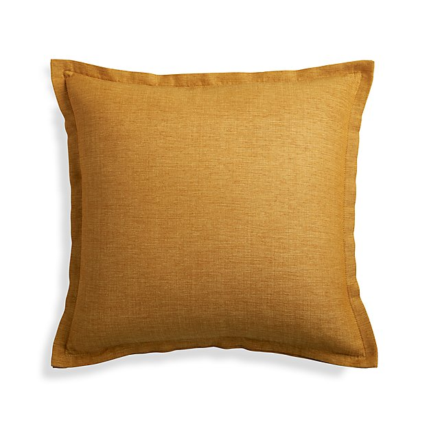 "Linden Gold 18"" Pillow Cover"