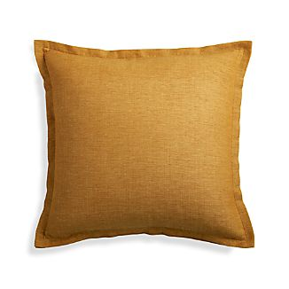 "Linden Gold 18"" Pillow Cover"