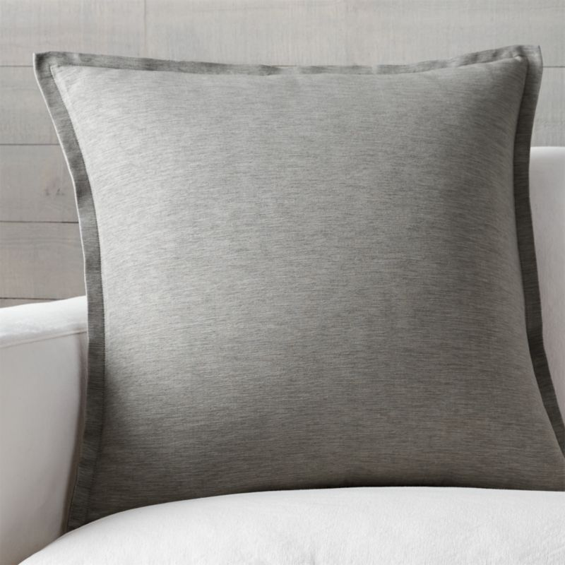 Grey Throw Pillow Crate and Barrel