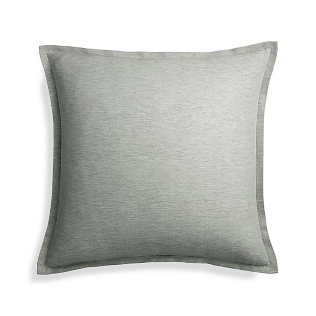 "Linden Grey 23"" Pillow Cover"