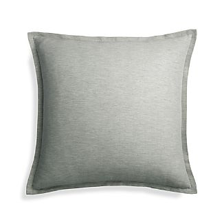 "Linden Grey 23"" Pillow Cover"