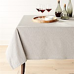 Linden Grey 60 x144   Tablecloth
