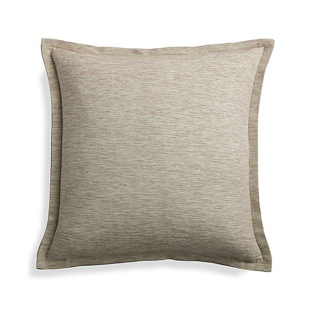 "Linden Mushroom 18"" Pillow Cover"