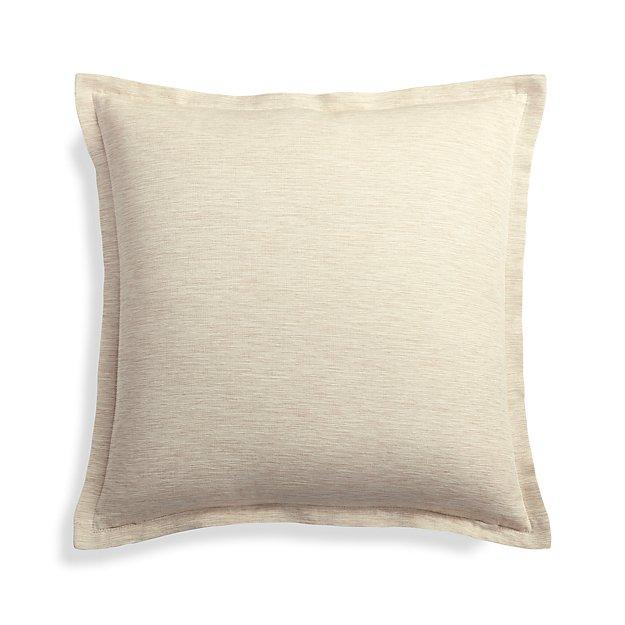 """Linden Natural 18"""" Pillow Cover"""