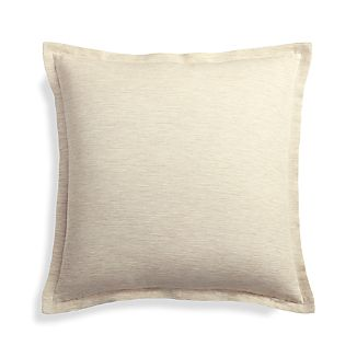 "Linden Natural 18"" Pillow Cover"