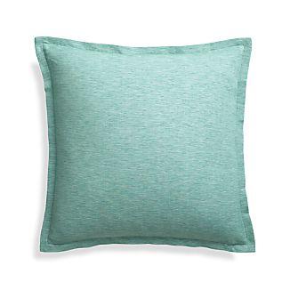 "Linden Ocean 18"" Pillow Cover"
