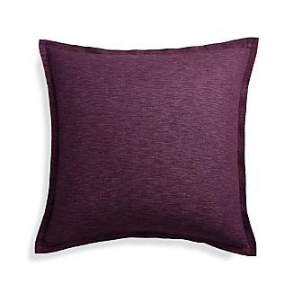"Linden Plum 23"" Pillow Cover"