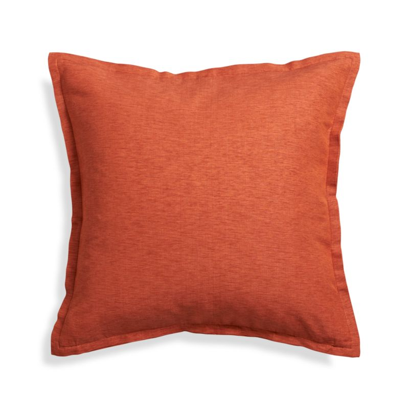 Throw Pillow Covers Crate And Barrel : Linden Copper 23