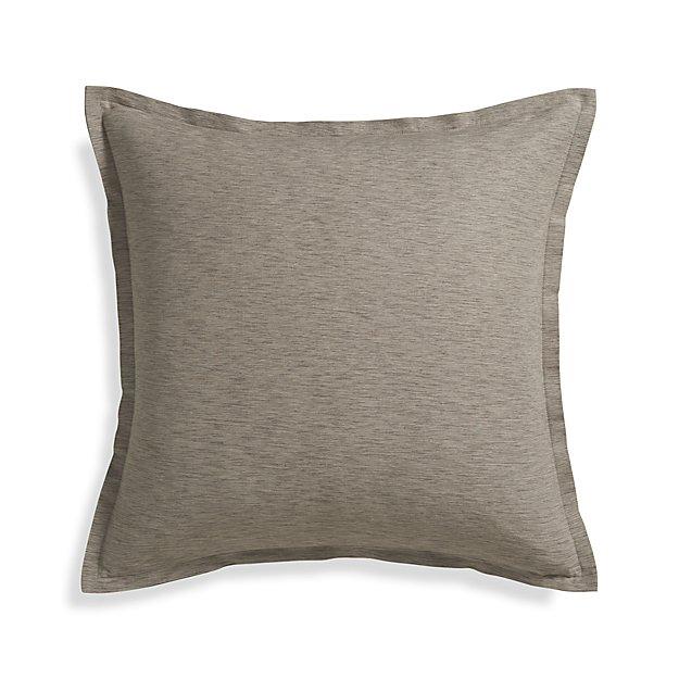 "Linden Mushroom 23"" Pillow Cover"