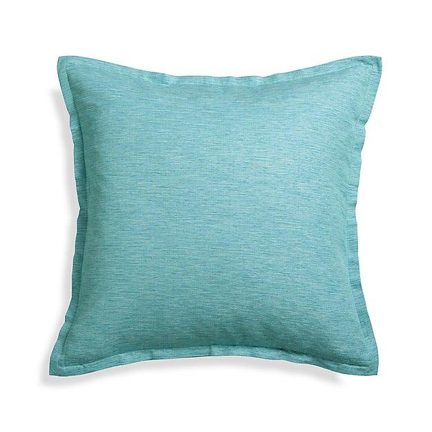 "Linden Ocean 23"" Pillow Cover"