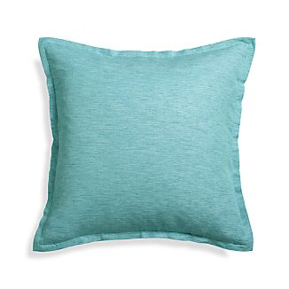 "Linden Ocean 23"" Pillow Cover"
