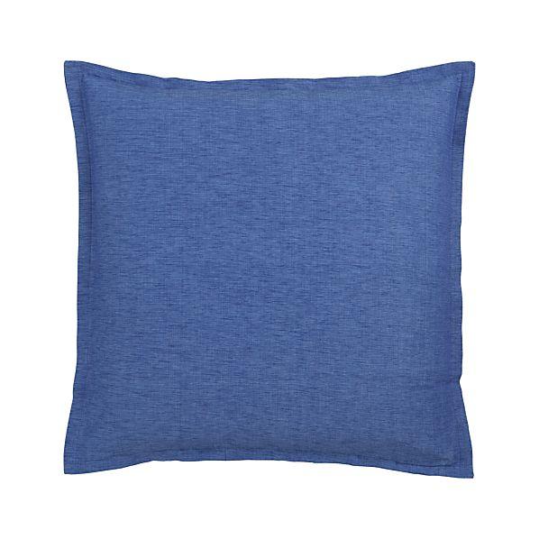 """Linden Blue 23"""" Pillow"""
