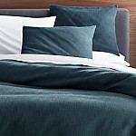 Lindstrom Blue Full/Queen Duvet Cover