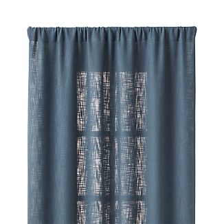 "Lindstrom Blue 48""x96"" Curtain Panel"
