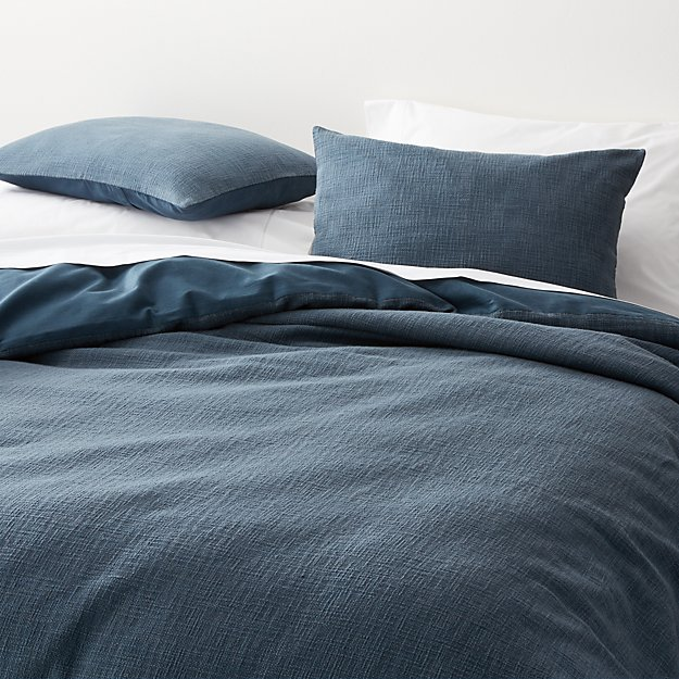 Lindstrom Blue Duvet Covers and Pillow Shams - Image 1 of 8